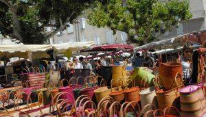 marché provençal de Nyons